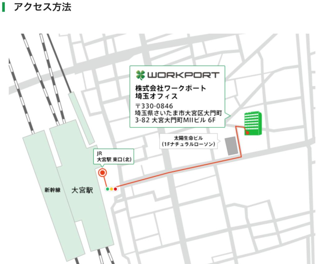ワークポート 埼玉