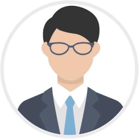 2.男性 スーツ 眼鏡483×483