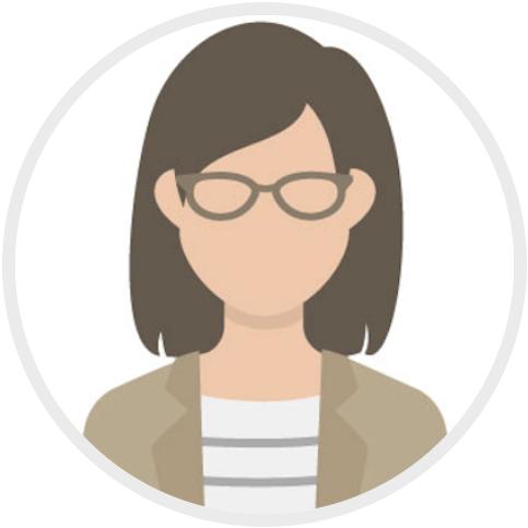 5.女性 カジュアル 眼鏡483×483